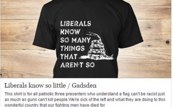 Ronald Reagan *NEW* Gadsden Shirt